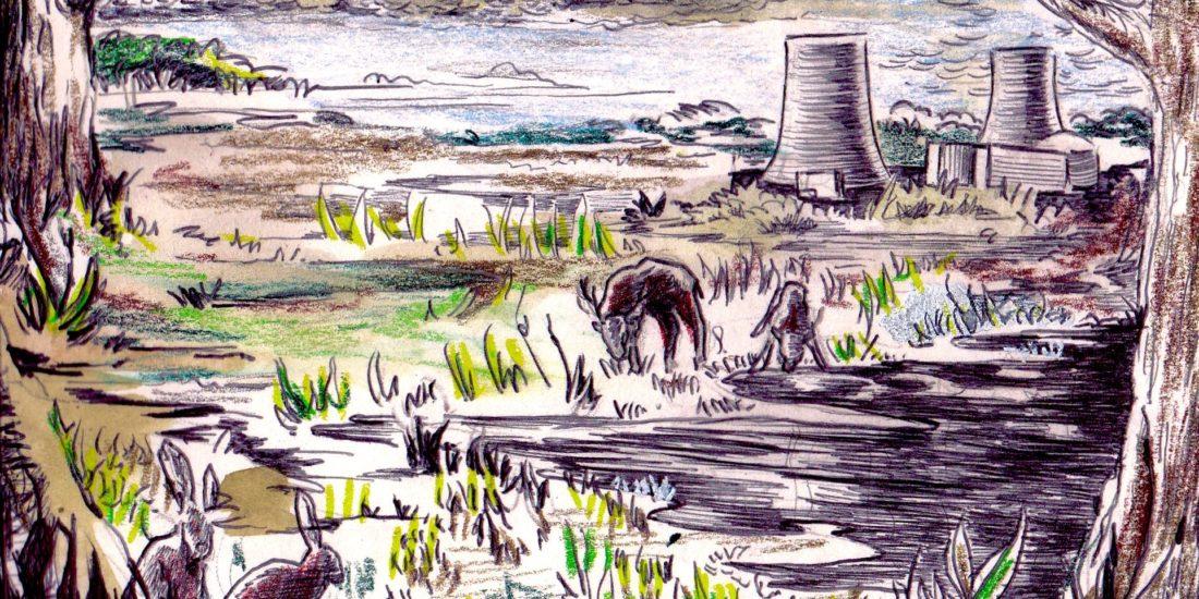 Illustrations sur le thème du nucléaire en France, sur le débat et les enjeux que recoupe ce secteur