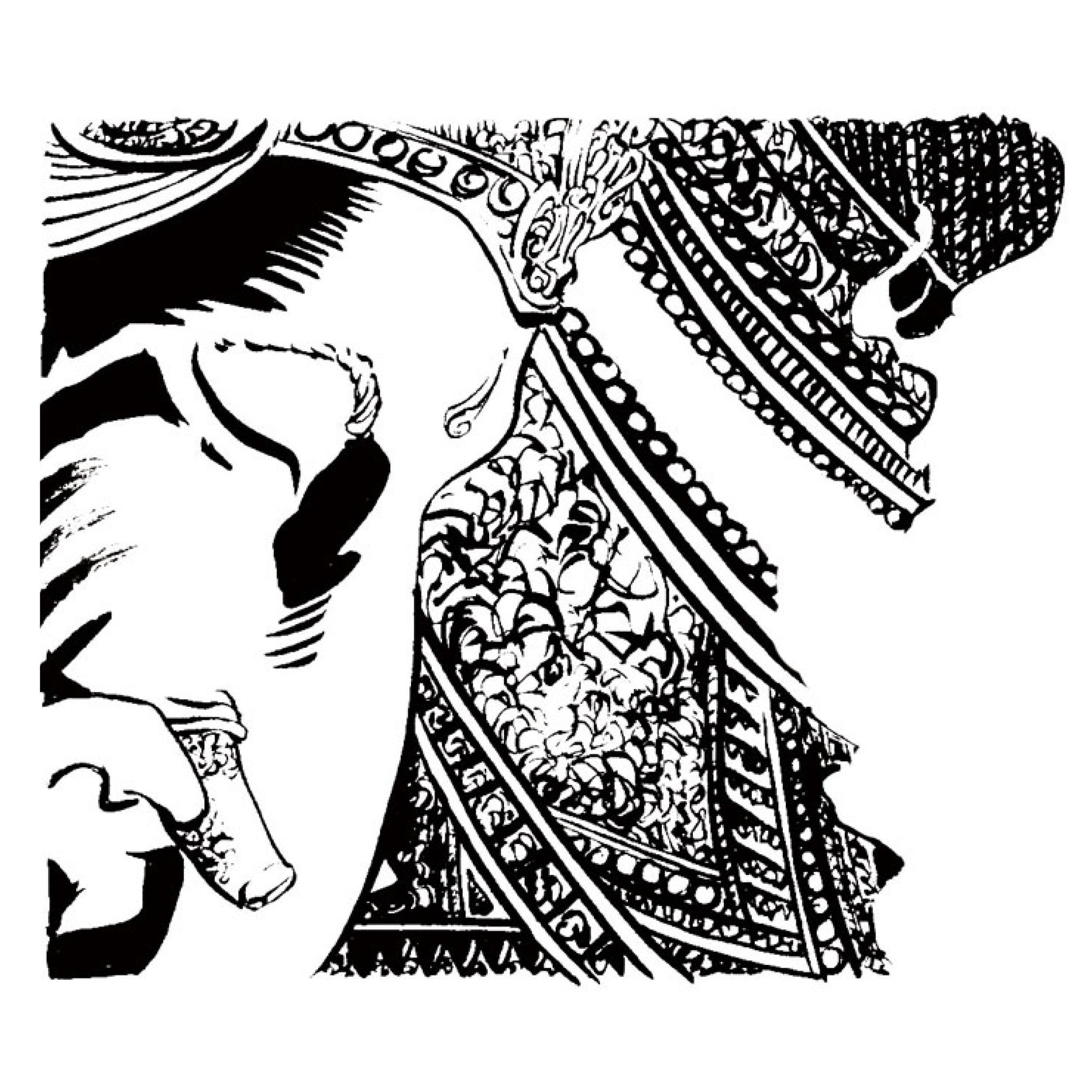Illustrations de Romain Chasserio sur le thème de l'Hindouisme