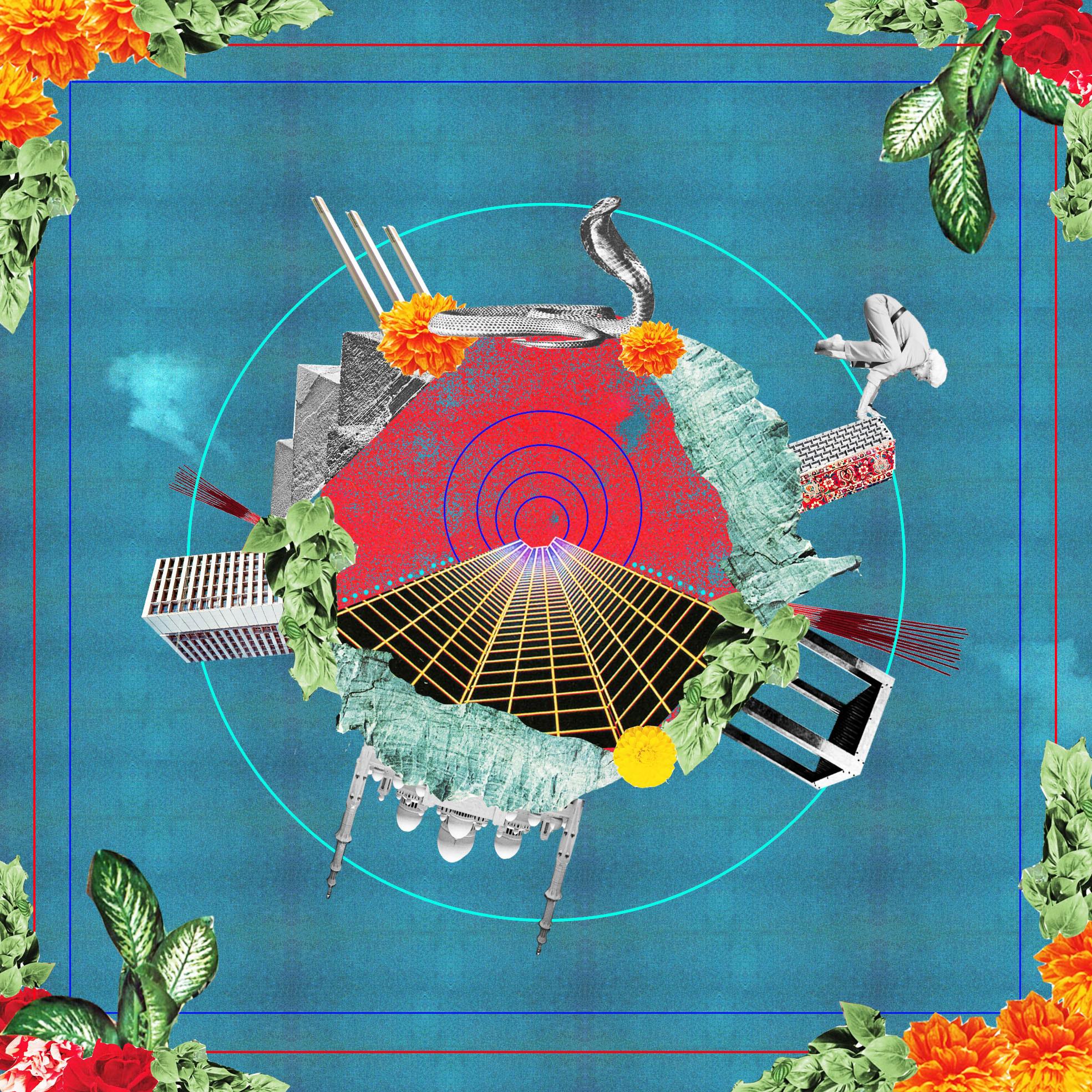Illustration de l'artiste Charlotte Esquerré sur le retour des spiritualités orientales en Occident