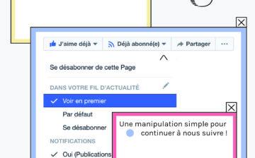 Facebook a modifié son algorithme. Continuez à voir les contenus Unsighted