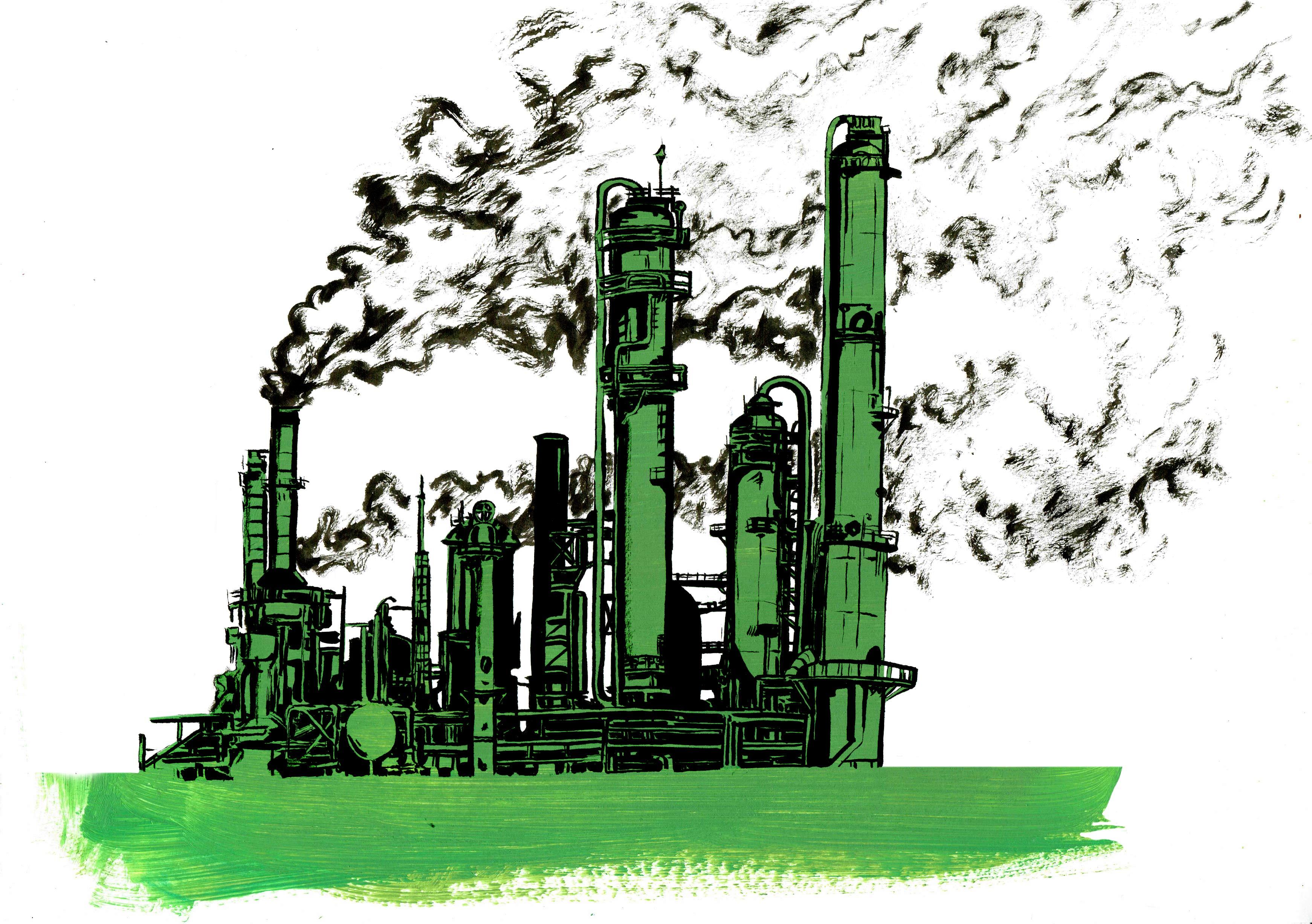 Illustrations d'Eric Vanderhaegen. Croissance verte : la lutte contre le changement climatique et la lutte écologique sont plus que jamais un combat pour la survie de notre espèce.