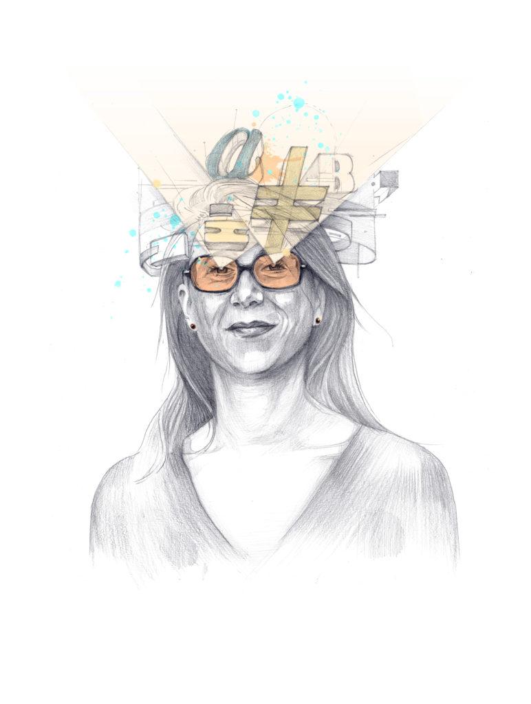 Claire Berthelemy, rédactrice en chef de l'Imprévu. Unsighted prépare un long format sur les médias !