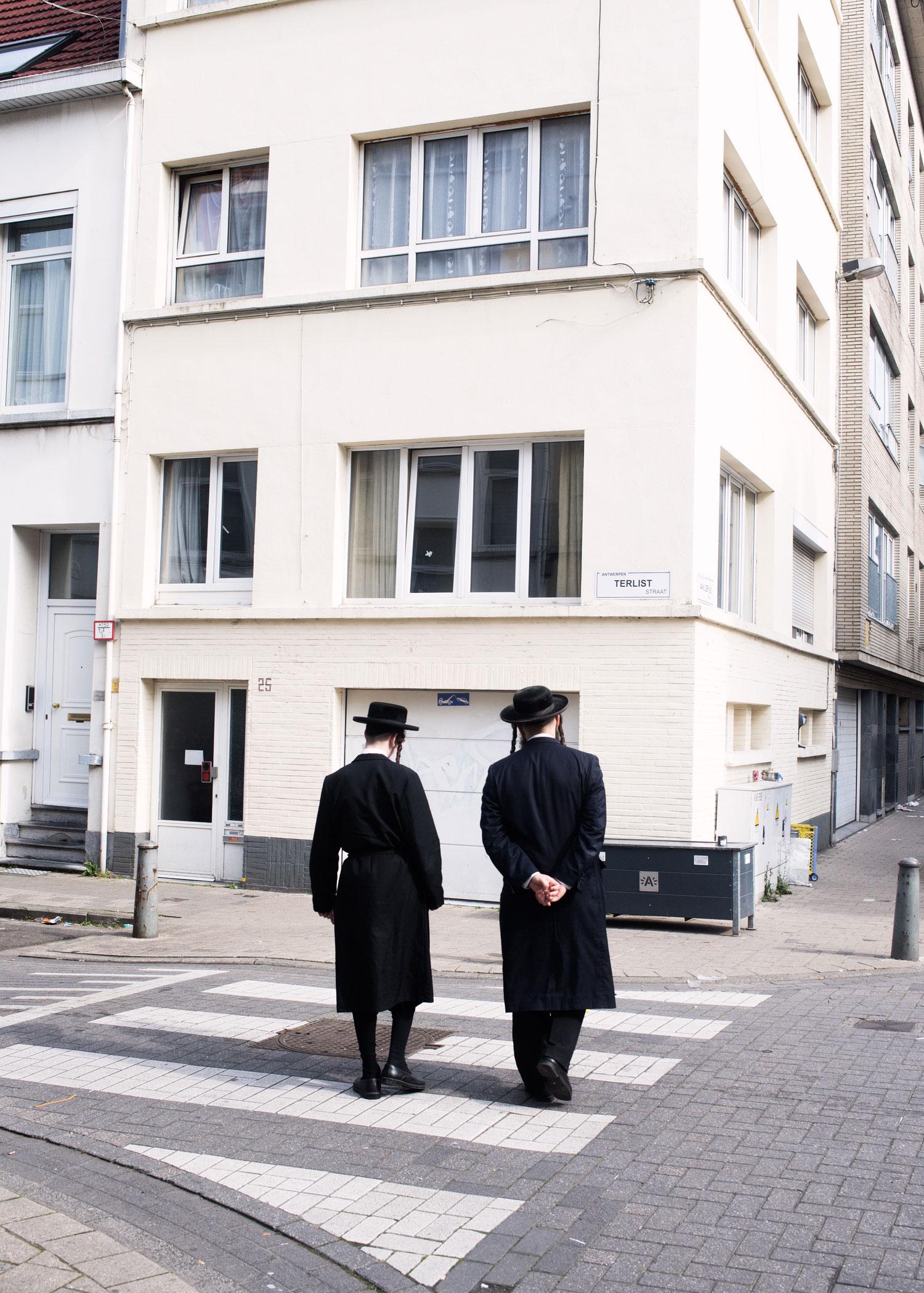 Photos de Nicolas Melemis prises à Anvers, capitale mondiale de la vente de diamants.