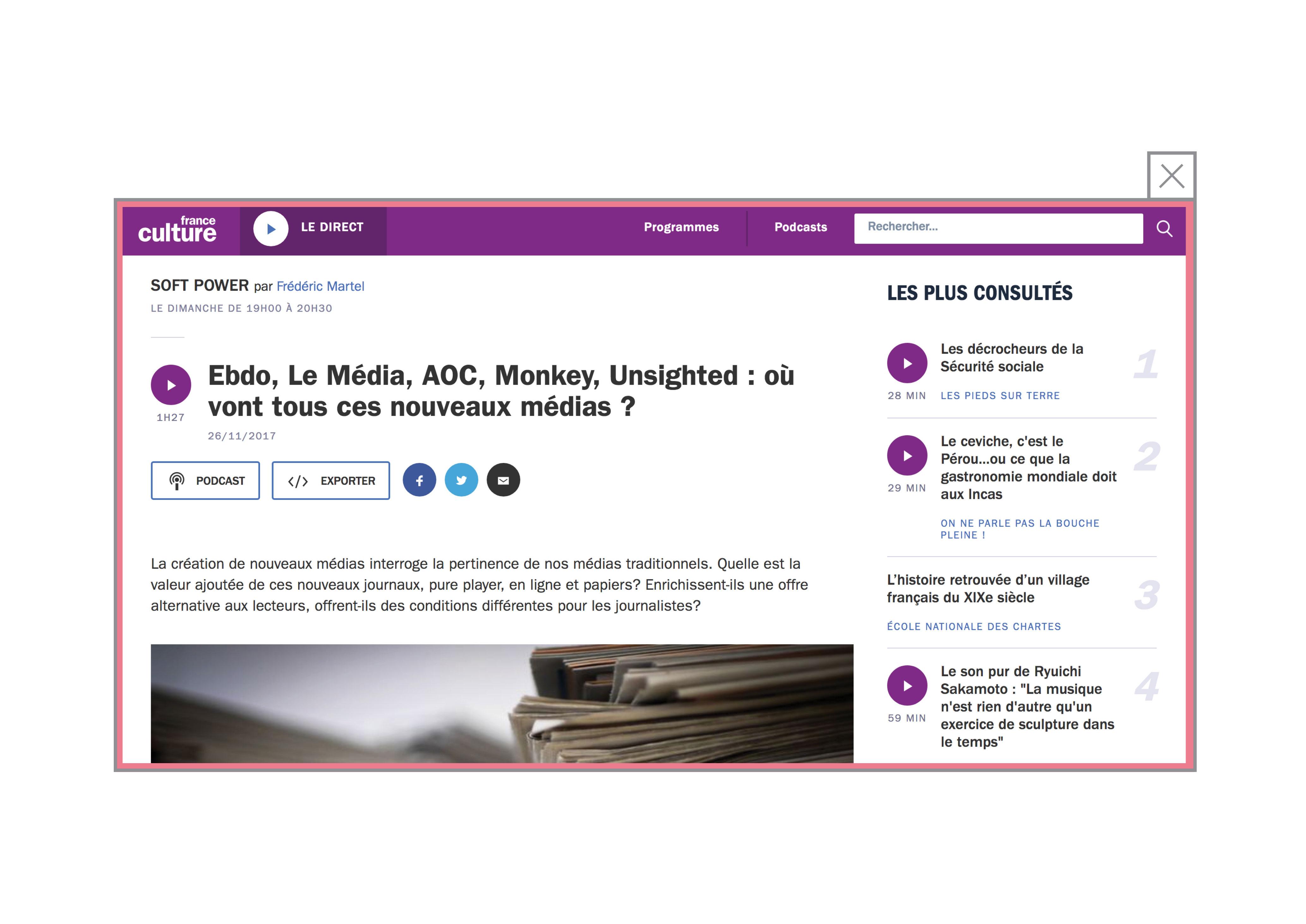 Unsighted, AOC, Le Media, Ebdo : où vont tous ces nouveaux médias ?