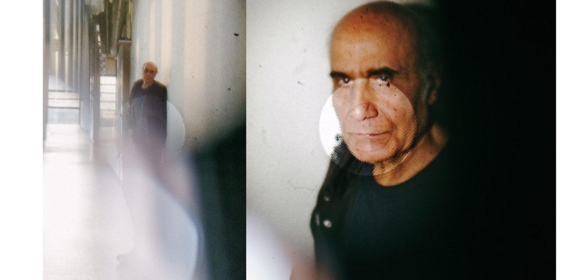 Amir Naderi et le cinéma iranien, à l'honneur au Centre Pompidou. Photos de Thomas Cecchelani