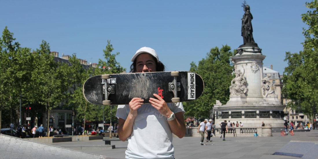 Le skateboard féminin