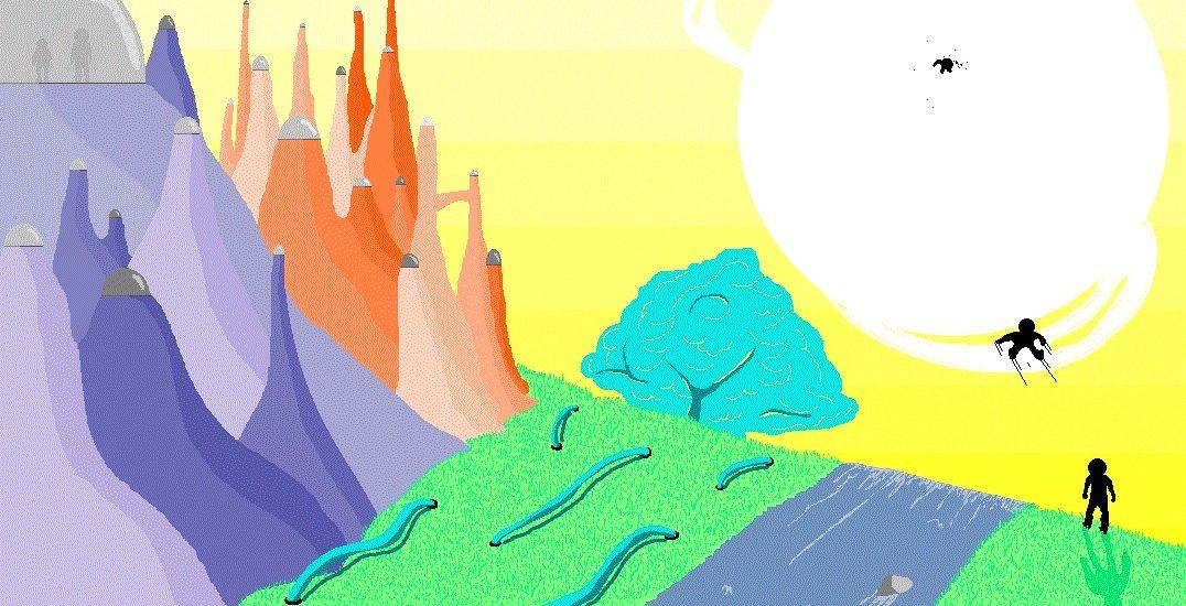 La monétisation de la nature et le marché des droits à polluer. Illustrations d'Hugo BM.