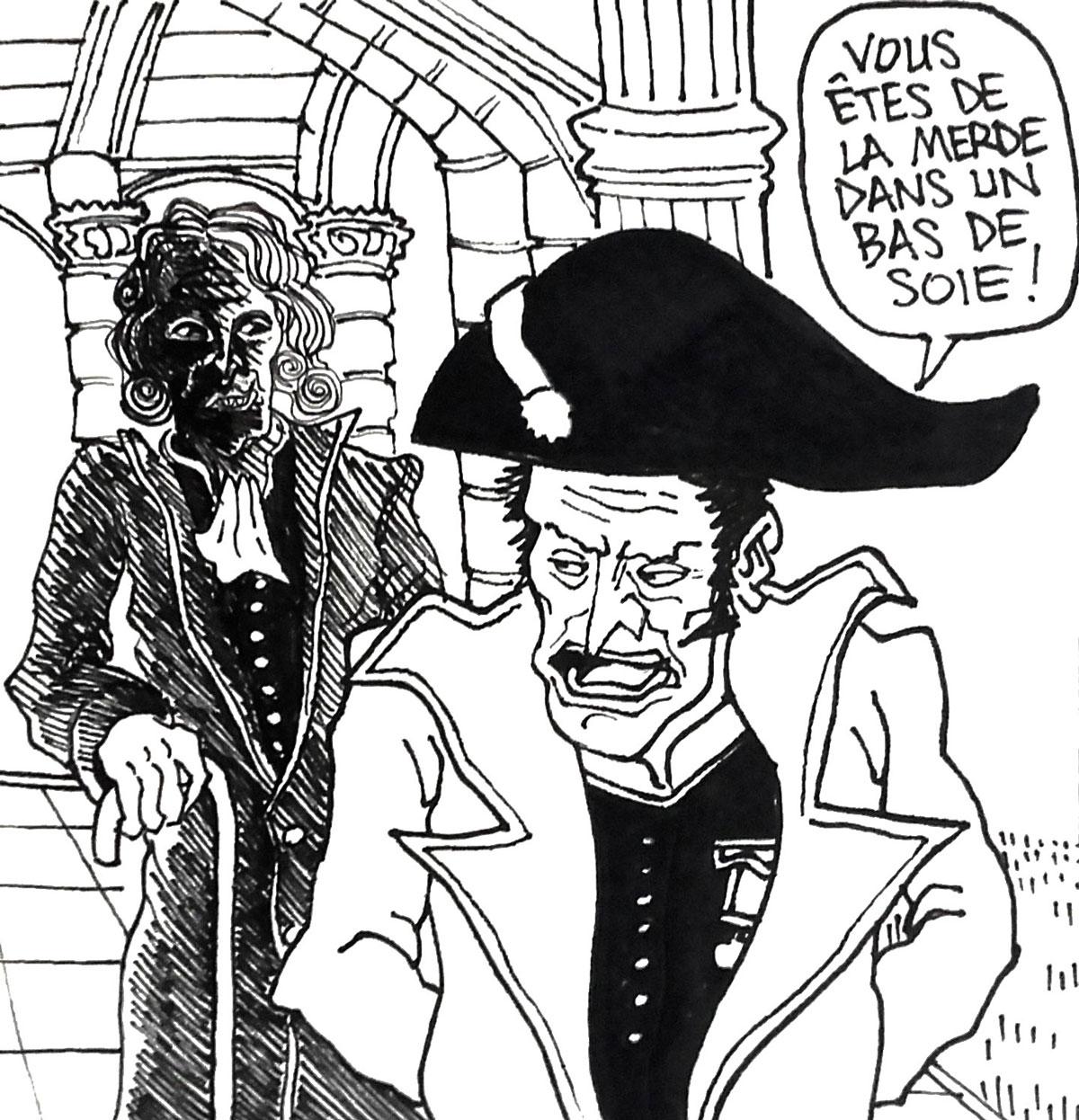 Talleyrand, l'homme qui a survécut à tous les régimes. Illustrations de Su Zo
