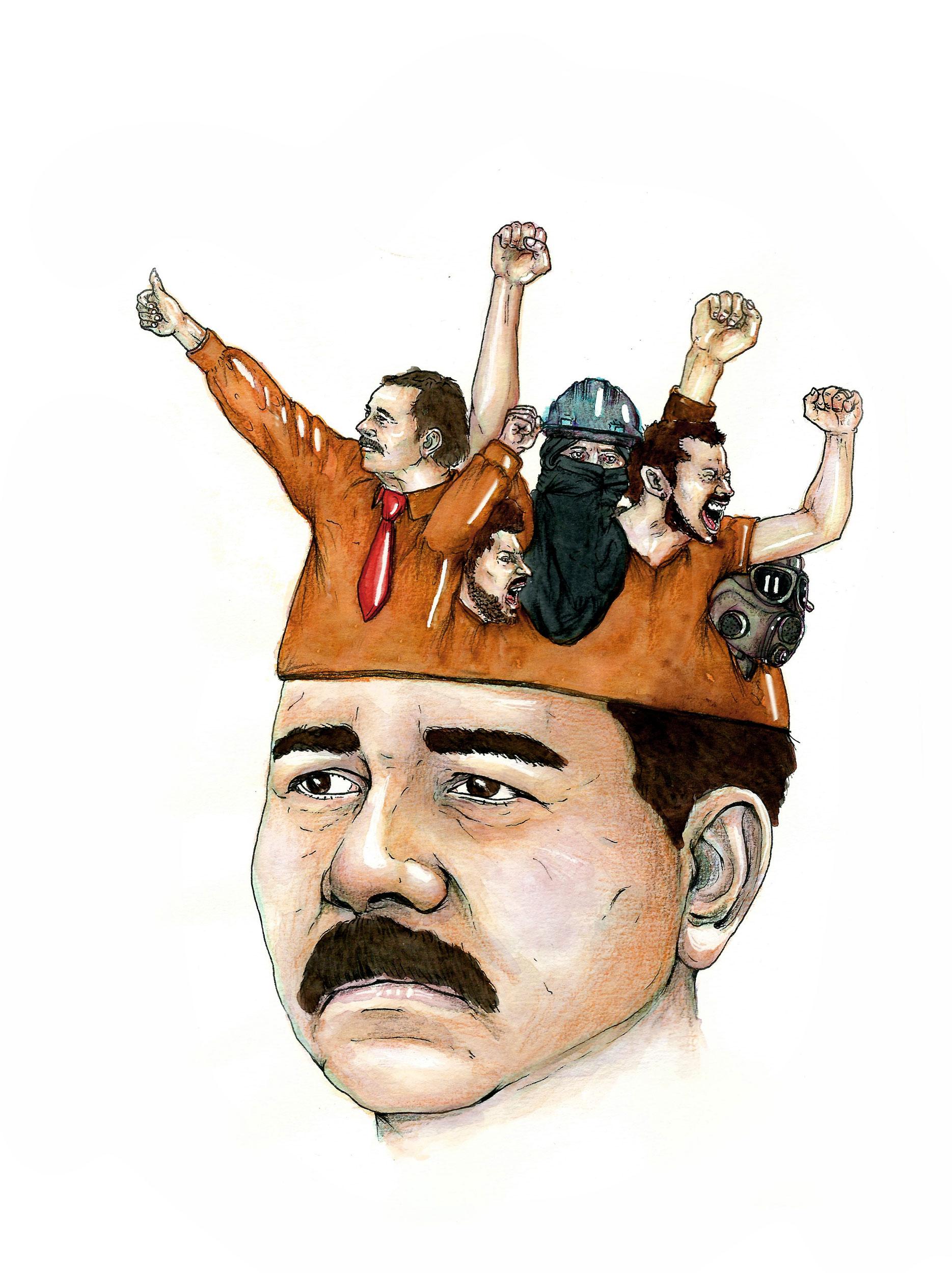 Nicaragua, terre de révolution. Illustrations de Maya Racca.